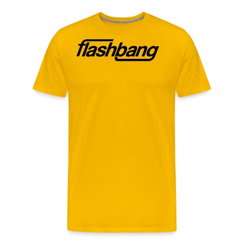 FlashBang Énkel - Utan Donation - Premium-T-shirt herr