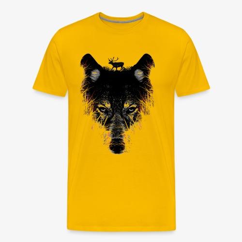 Wolfs - T-shirt Premium Homme