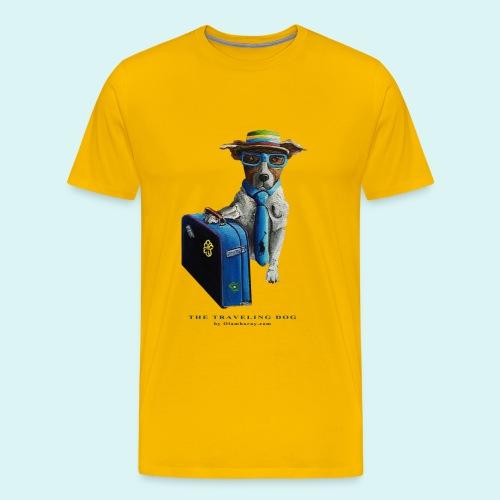 The Traveling Dog - Men's Premium T-Shirt