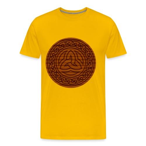 Triquetra Celtic Knot - Men's Premium T-Shirt