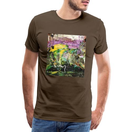 Abstract close up 2 - Men's Premium T-Shirt