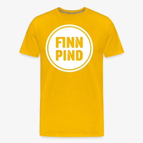 Finn pind Design - Herre premium T-shirt