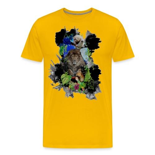 Selva sobre nube negra - Camiseta premium hombre