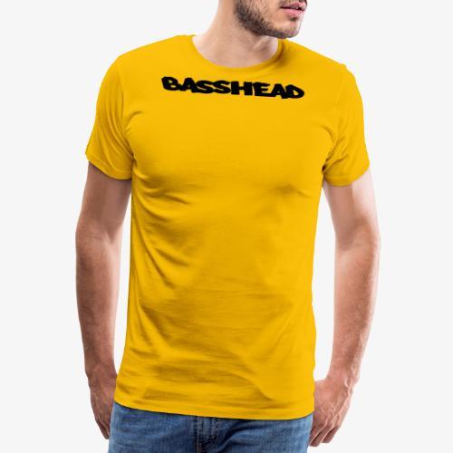 basshead - Premium-T-shirt herr