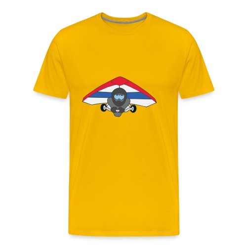Deltavlieger Andre - Mannen Premium T-shirt