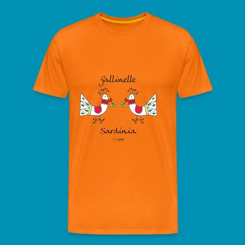 Gallinelle - Maglietta Premium da uomo