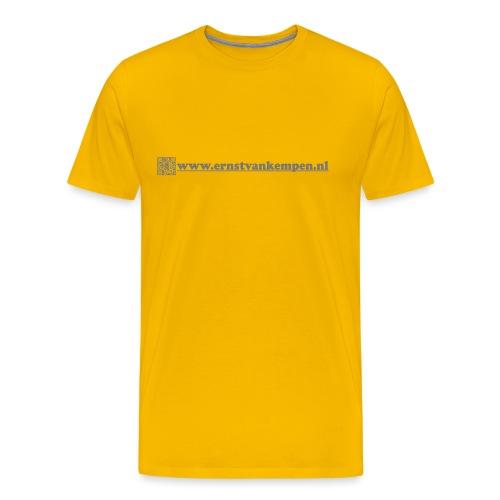 Negative QR www ernstvankempen nl - Mannen Premium T-shirt
