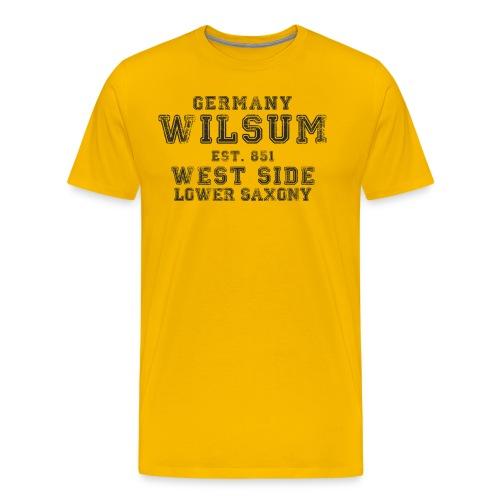 Wilsum png - Männer Premium T-Shirt