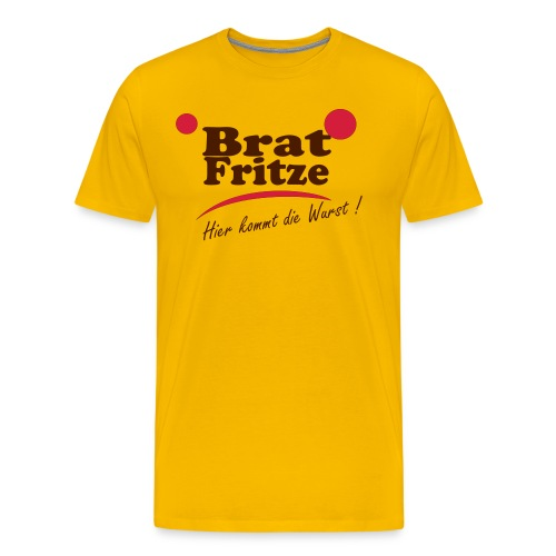 bratfritze3 - Männer Premium T-Shirt