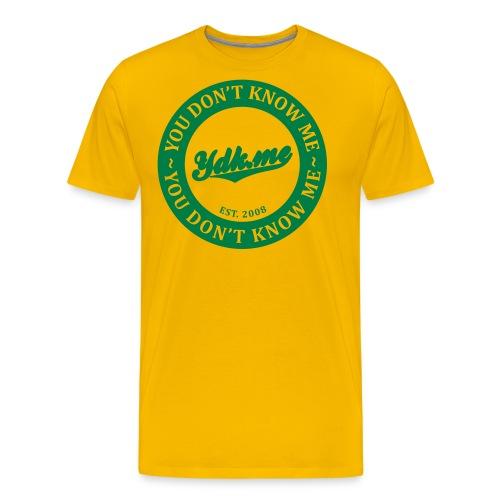 ydk biglogoblack - Men's Premium T-Shirt