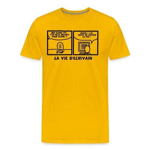 BD_ECRIVAIN - T-shirt Premium Homme