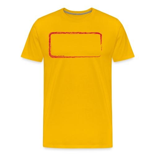 backrahmen28 - Männer Premium T-Shirt
