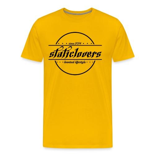 Staticlovers Schwarz - Männer Premium T-Shirt