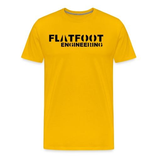FlatFootLogo - Premium-T-shirt herr