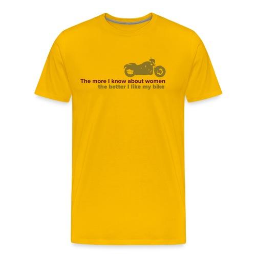 themoreiknow - Men's Premium T-Shirt
