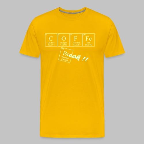 Coffee Break - Men's Premium T-Shirt
