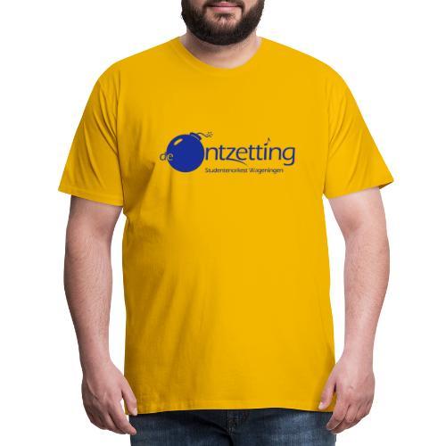 ontzetting logo - Mannen Premium T-shirt