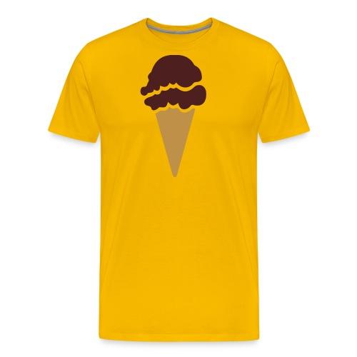 Logo ice cream - Camiseta premium hombre