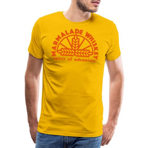 Marmalade Whiskey - Men's Premium T-Shirt