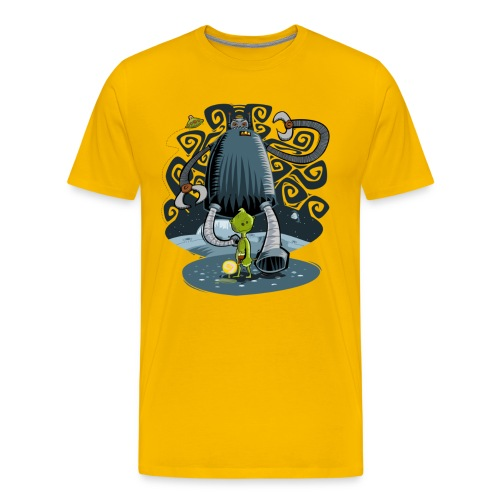 Robot bully - Men's Premium T-Shirt