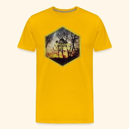 Sunset Treeline - Men's Premium T-Shirt
