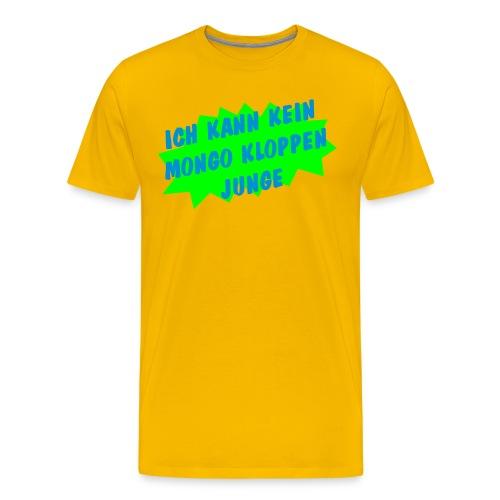 expl mongo - Männer Premium T-Shirt