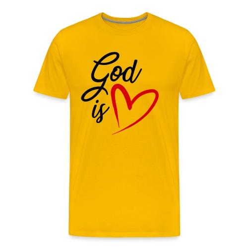 God is love 2N - Maglietta Premium da uomo