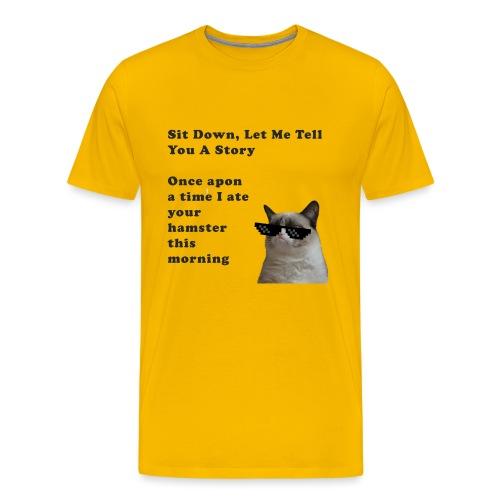 tshirt design 2 png - Men's Premium T-Shirt