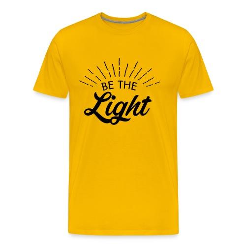 Be the light 6 N - Maglietta Premium da uomo