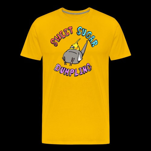 Sweet Sugar Dumpling Cockatiel - Men's Premium T-Shirt