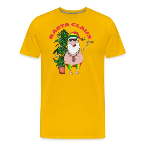 Rasta Claus - Männer Premium T-Shirt