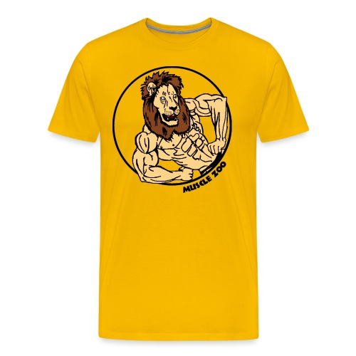 King Of The Muscle Jungle - Men's Premium T-Shirt