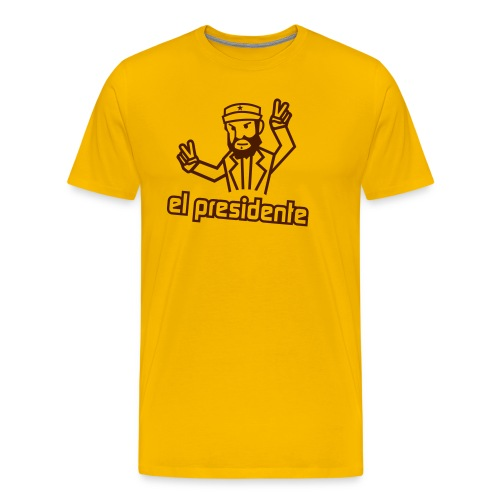 el presidente vorlage - Männer Premium T-Shirt