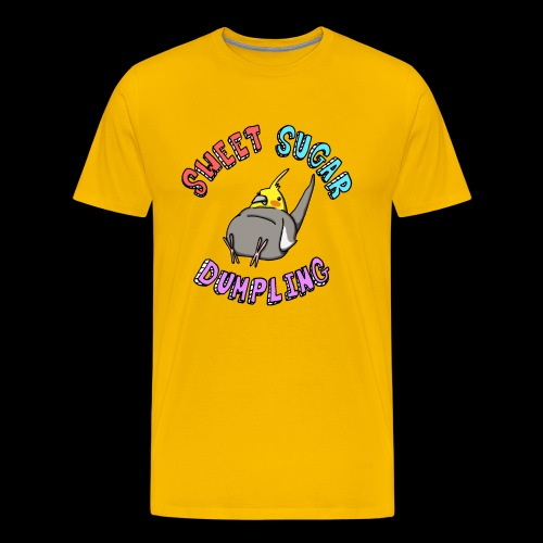 Sweet Sugar Dumpling Cockatiel - Men's Premium T-Shirt