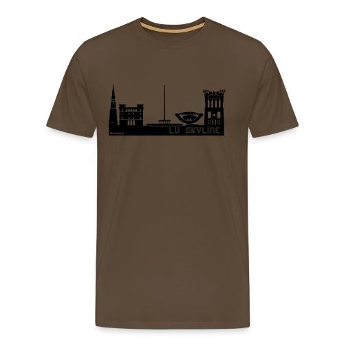 Lu skyline de Terni - Maglietta Premium da uomo
