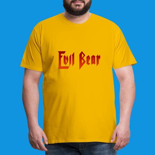 Evil Bear tank - Men's Premium T-Shirt