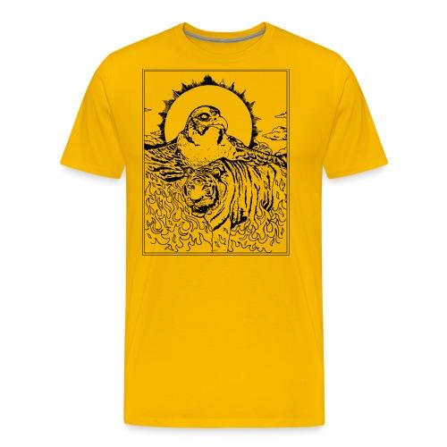 Tiger Falcon Concept - Männer Premium T-Shirt
