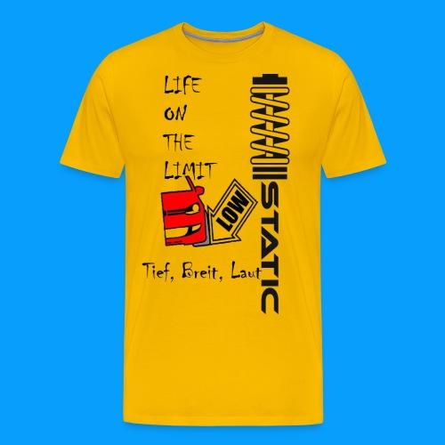 static - Männer Premium T-Shirt