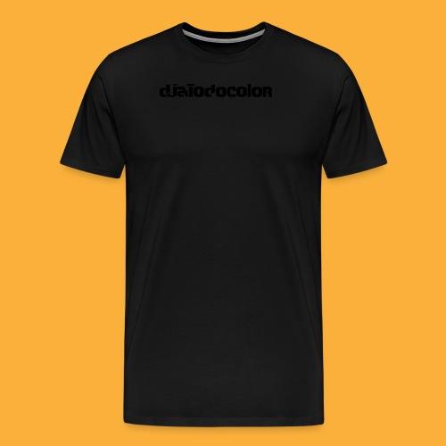 DJATODOCOLOR LOGO NEGRO - Camiseta premium hombre