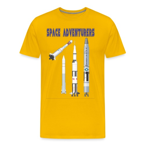Space adventurers - Men's Premium T-Shirt