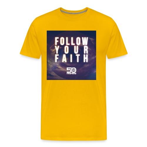 Follow Your Faith 2 - Männer Premium T-Shirt