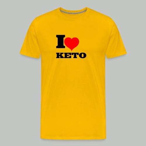 I-LOVE-KETO - Männer Premium T-Shirt