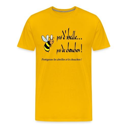 Pas d'abeille, pas de chouchen - T-shirt Premium Homme