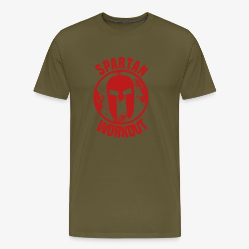Spartan Workout - Men's Premium T-Shirt