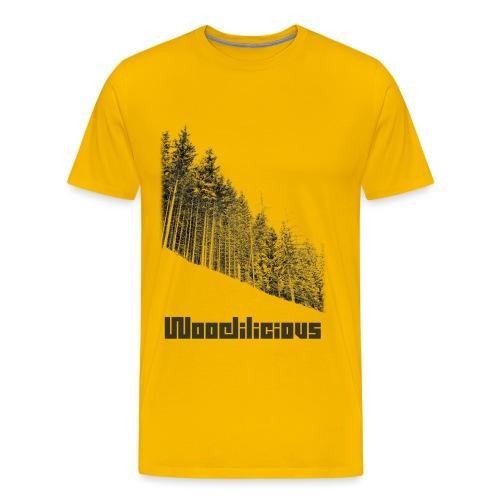 Woodilicious v1 png - Men's Premium T-Shirt