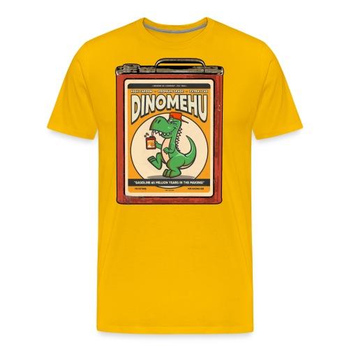 Dinomehu -kanisteri - Miesten premium t-paita