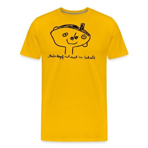 Kopfschule - Männer Premium T-Shirt
