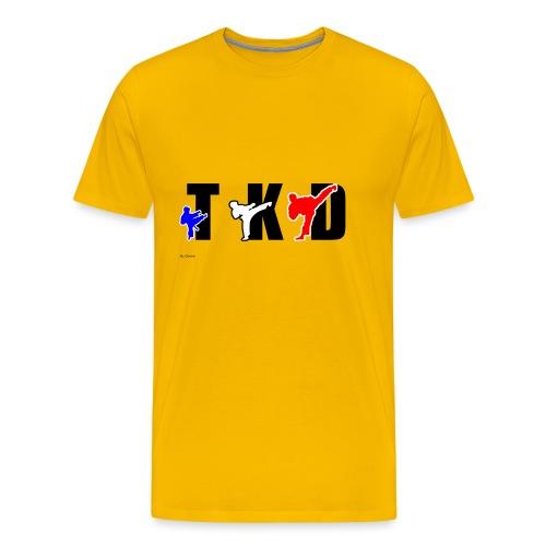 Design Taekwondo - T-shirt Premium Homme