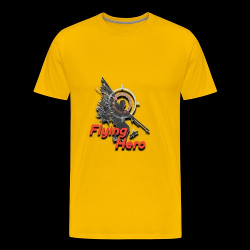 Flying Hero - T-shirt Premium Homme