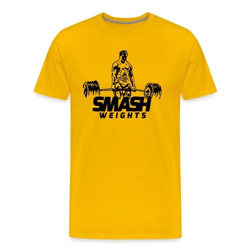 SmashWeightsMan png - Men's Premium T-Shirt
